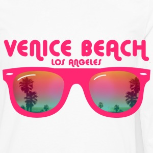Venice beach los angeles Buttons - Men's Premium Long Sleeve T-Shirt