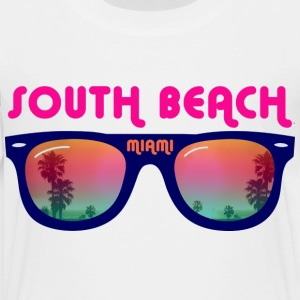 South Beach Miami sunglasses Kids' Shirts - Toddler Premium T-Shirt
