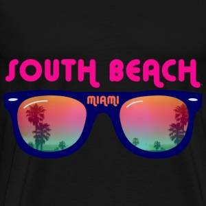 South Beach Miami sunglasses Bags  - Men's Premium T-Shirt