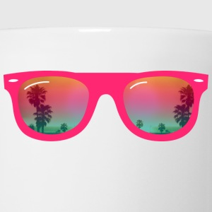 sunglasses palms and beach Hoodies - Coffee/Tea Mug