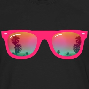sunglasses palms and beach Hoodies - Men's Premium Long Sleeve T-Shirt