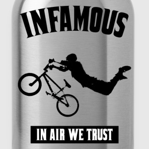 infamous - air we trust Hoodies - Water Bottle