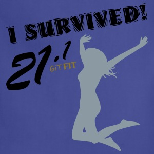 Women's Half Marathon · I Survived! Women's T-Shirts - Adjustable Apron