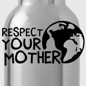 RESPECT YOUR MOTHER!, c,   Long Sleeve Shirts - Water Bottle