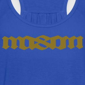MASON palindromic top first name Sweatshirts - Women's Flowy Tank Top by Bella