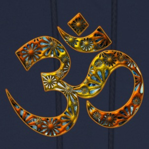 OM (AUM - I AM), manifestation of spiritual strength, Energy Symbol / sacred symbol, DD T-Shirts - Men's Hoodie