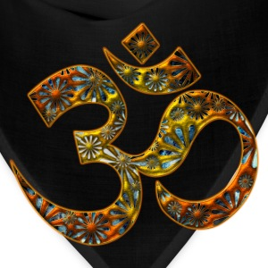 OM (AUM - I AM), manifestation of spiritual strength, Energy Symbol / sacred symbol, DD T-Shirts - Bandana
