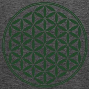 Flower of Life - Sacred Geometry, c, Healing Symbol, Energy Symbol, Harmony, Balance T-Shirts - Women's Flowy Tank Top by Bella