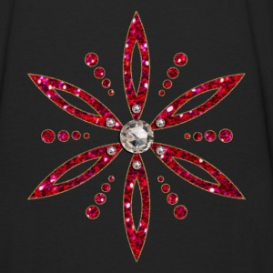 Flower of Aphrodite, red, Symbol of  love, beauty and transformation, Power Symbol, Talisman Hoodies - Men's Premium Long Sleeve T-Shirt