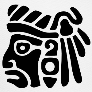 Mayan Face VECTOR T-Shirts - Trucker Cap