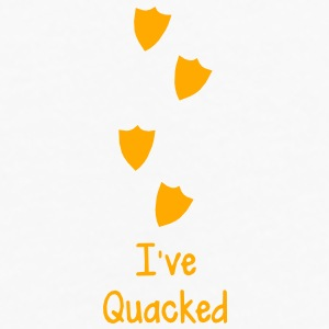 duck prints going up saying I've QUACKED  Accessories - Men's Premium Long Sleeve T-Shirt