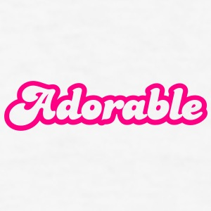 adorable! in cute font Gift - Men's T-Shirt