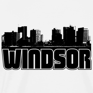 Windsor Skyline Hooded Sweatshirt - Men's Premium T-Shirt