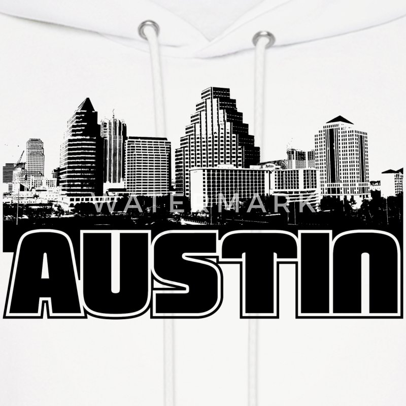 Austin Skyline Hooded Sweatshirt - Men's Hoodie