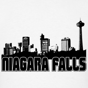 Niagara Falls Skyline Hooded Sweatshirt - Men's T-Shirt