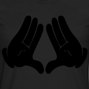 DIAMOND HANDS T-Shirts - Men's Premium Long Sleeve T-Shirt
