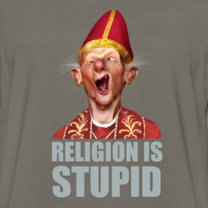 Religion is stupid T-Shirts - Men's Premium Long Sleeve T-Shirt