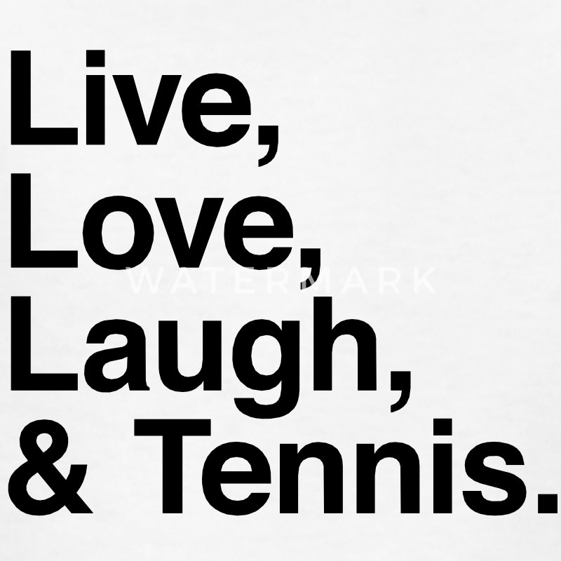 Live , love , laugh and tennis Kids' Shirts - Kids' T-Shirt