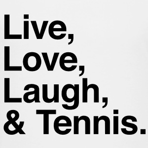Live , love , laugh and tennis Kids' Shirts - Toddler Premium T-Shirt