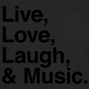 Live , love , laugh and music T-Shirts - Men's Premium Long Sleeve T-Shirt