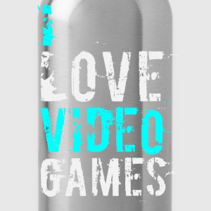 i love video games v1 Hoodies - Water Bottle