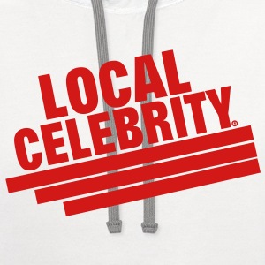 LOCAL CELEBRITY - Contrast Hoodie