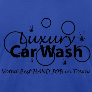 Car Wash - Hand Job - Men's T-Shirt by American Apparel