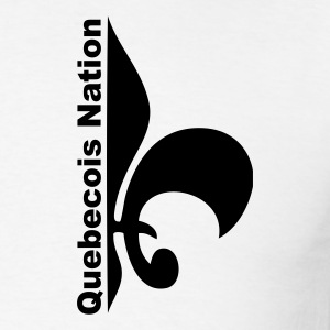 White Quebecois Nation Sweatshirt - Men's T-Shirt