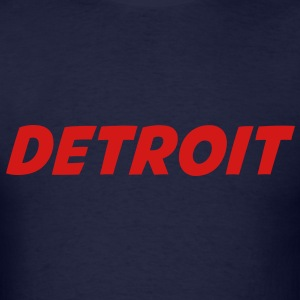 DETROIT Long Sleeve Shirts - Men's T-Shirt