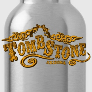 Tombstone Saloon American Apparel T-Shirt - Water Bottle