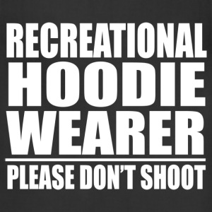 Recrecational Hoodie Wearer Please Dont Shoot Trayvon Martin T-Shirts - Adjustable Apron