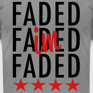 I'm Faded Long Sleeve Shirts - stayflyclothing.com - Men's T-Shirt by American Apparel