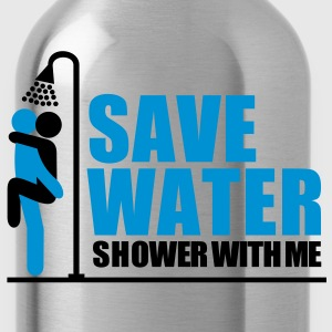 save_water Shower With ME - Water Bottle