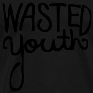 Wasted Youth Hoodies - Men's Premium T-Shirt
