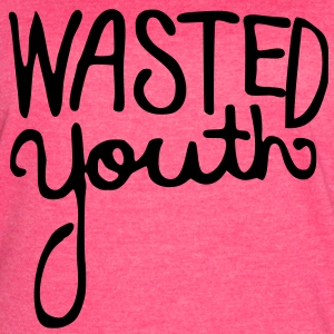 Wasted Youth Tanks - Women's Vintage Sport T-Shirt