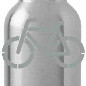 bicycle stencil Hoodies - Water Bottle