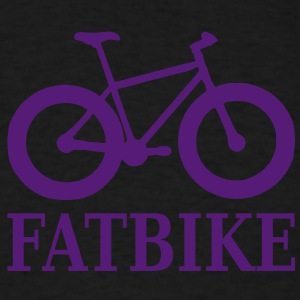 fatbike_with_text Hoodies - Men's T-Shirt