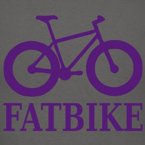 fatbike_with_text Zip Hoodies/Jackets - Men's T-Shirt