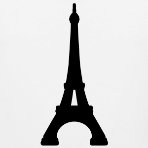 Eiffel Tower Paris T-Shirts - Men's Premium Tank