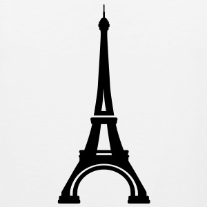 Eiffel Tower Paris Women's T-Shirts - Men's Premium Tank