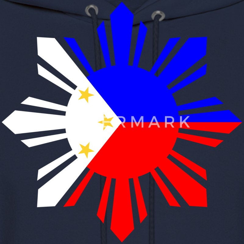 Philippines Flag Hoodies - Men's Hoodie