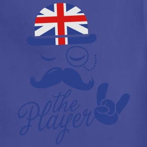 England Fashionable Gentleman Sir champion player sports olympics sporting moustache Kids' Shirts - Adjustable Apron