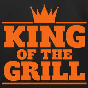 King of the Grill - gold foil edition - Eco-Friendly Cotton Tote