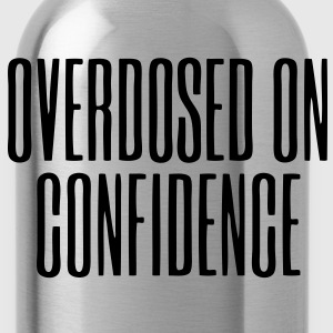 Overdosed On Confidence Long Sleeve Shirts - stayflyclothing.com - Water Bottle
