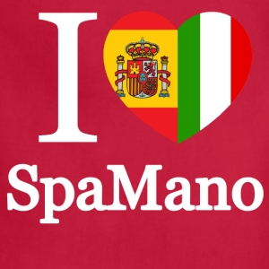 I Heart SpaMano - Adjustable Apron