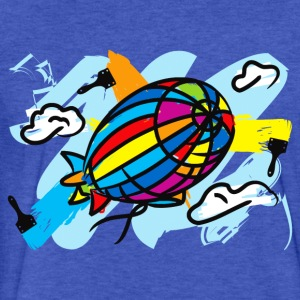 Airship_Journey - Fitted Cotton/Poly T-Shirt by Next Level