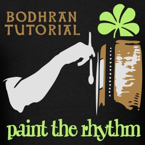 paint_bodhran Hoodies - Men's T-Shirt