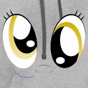 Derpies Derp Face T-Shirts - Contrast Hoodie