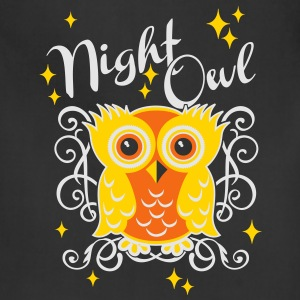 night owl T-Shirts - Adjustable Apron