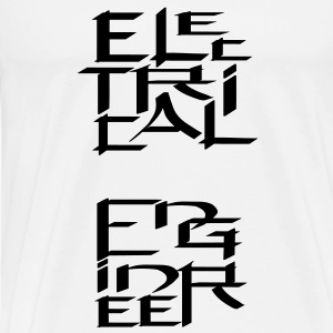 Electrical Engineer Character Tanks - Men's Premium T-Shirt
